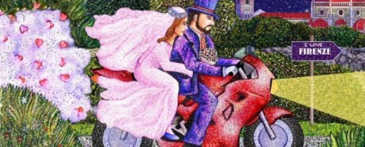 Le jour de la Saint-Valentin à Florence